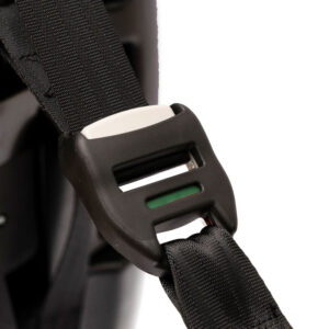 Ασφαλής και γρήγορη εγκατάσταση χάρη στο πρακτικό σύστημα isofix + top teather. Σήμανση σωστής τοποθέτησης στο top teather.